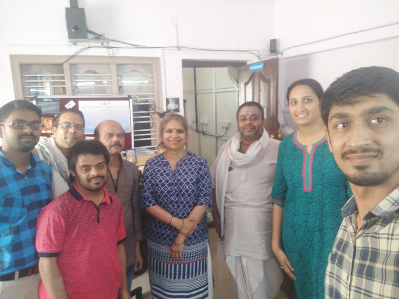 Sow.Jyotsna Kalavar visited Vyoma labs office -May 2019