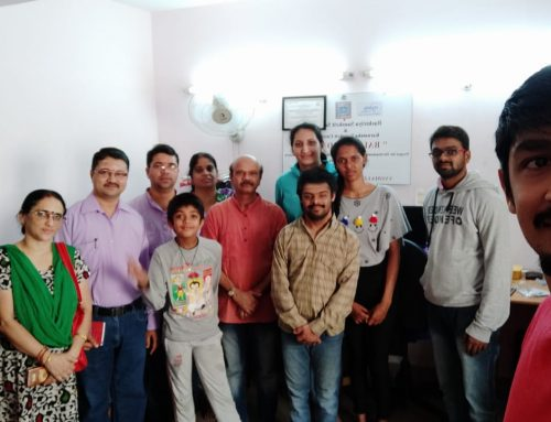 US Customers visiting Vyoma office -September 2019
